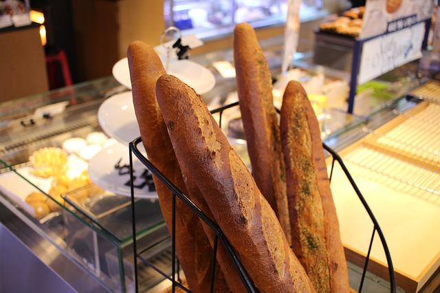 baguette panadería