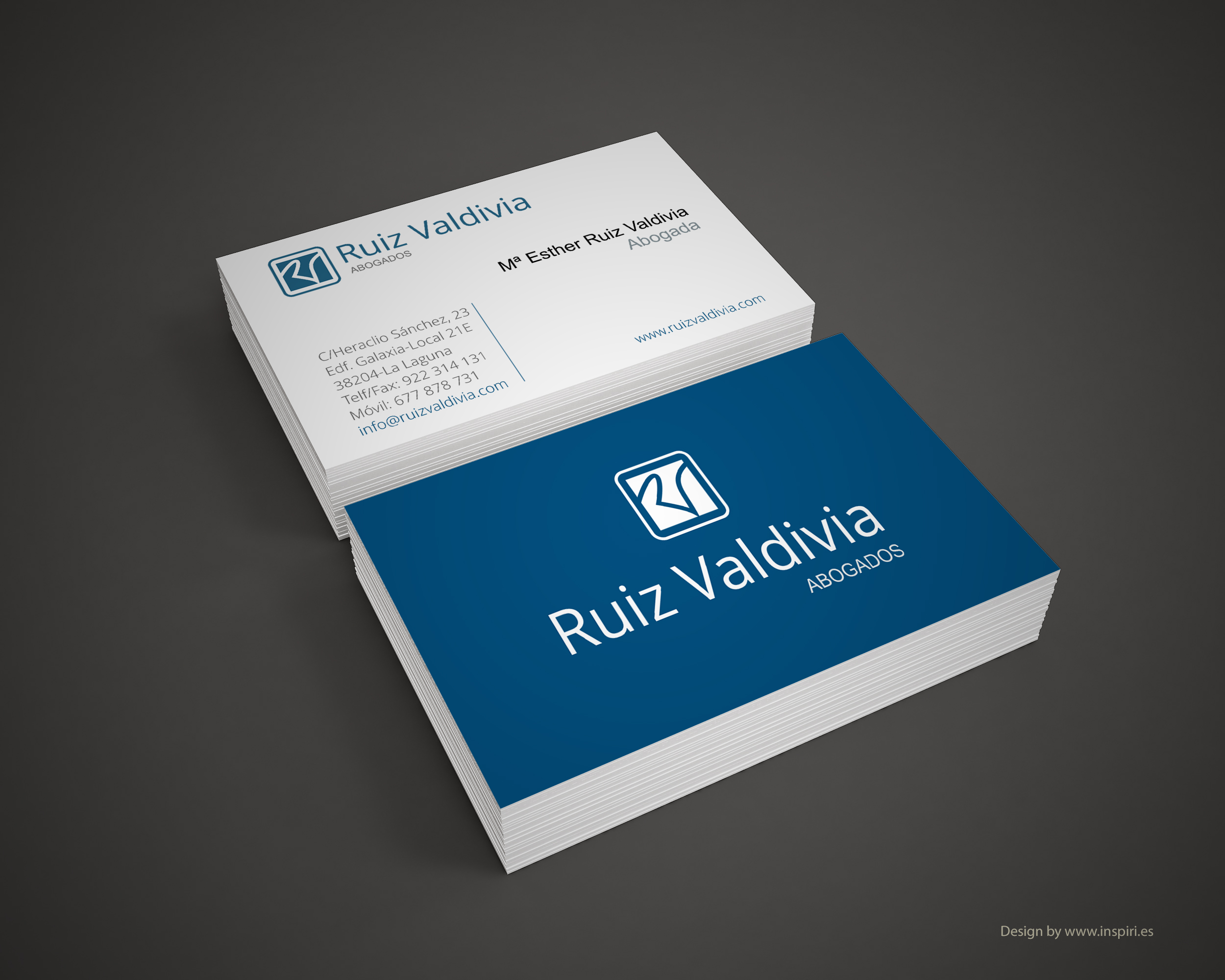 Ruiz Valdivia Business card